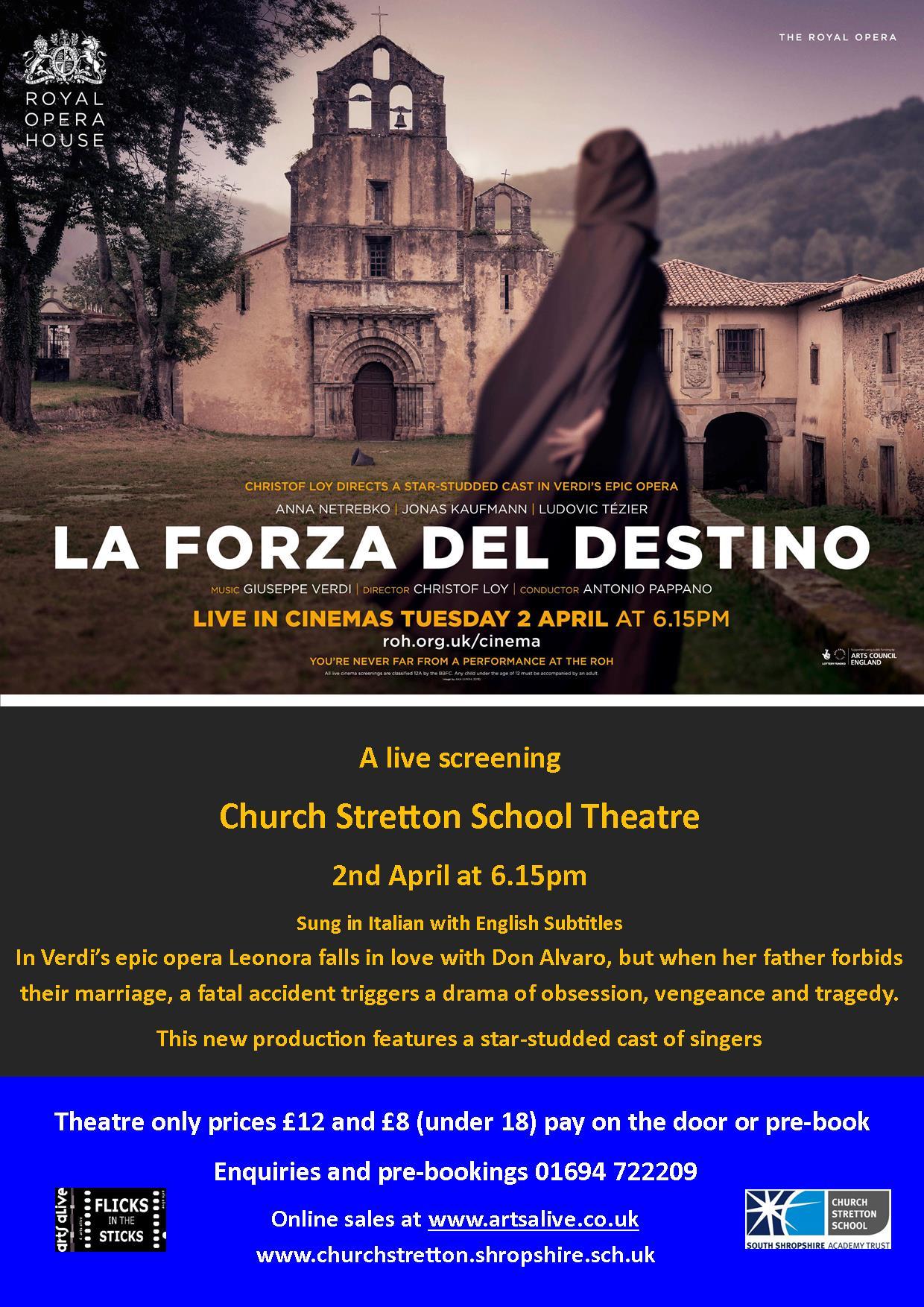 La Forza Del Destino poster